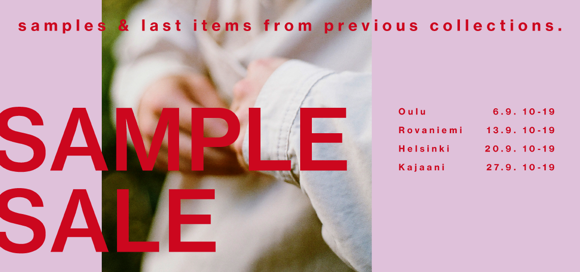 R-COLLECTION SAMPLE SALE