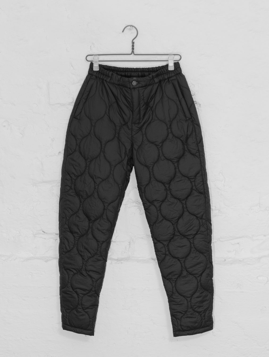 Rene Quilted Trousers black