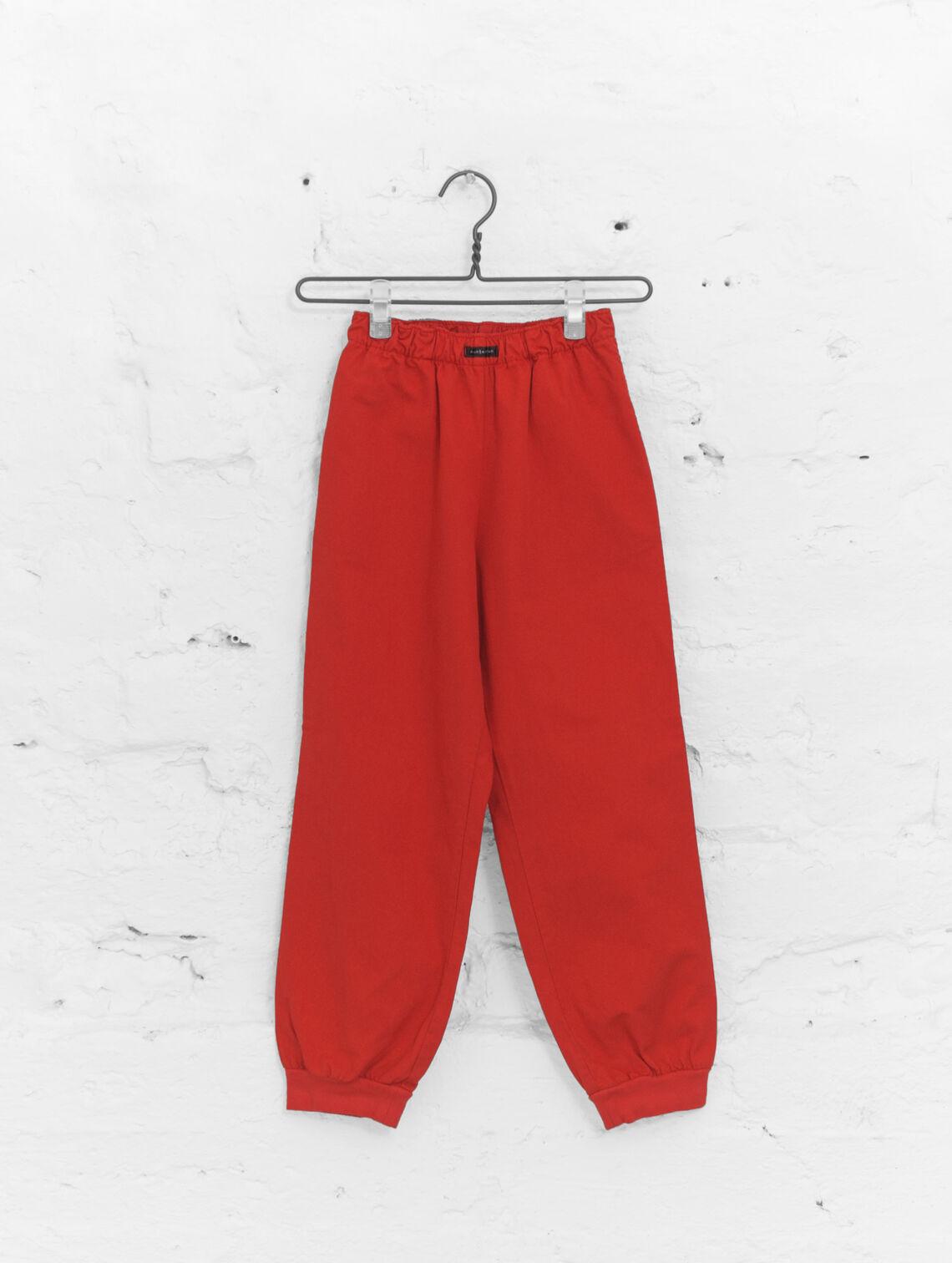 409c6edfb794 Children s Anorak Pants red