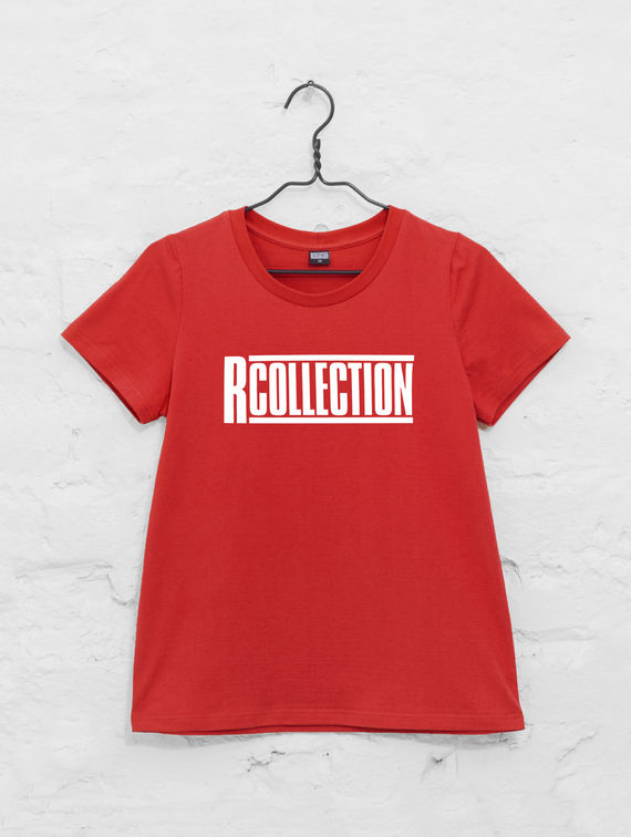Women's T-Shirt red / white R-Collection