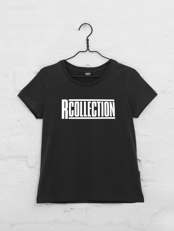Women's logo T-Shirt black / white logo