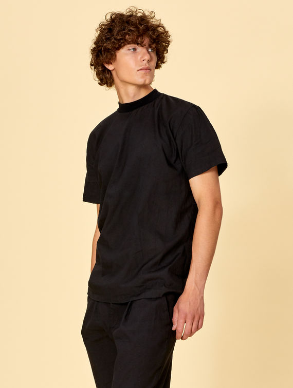 R-Collection Linen T-Shirt