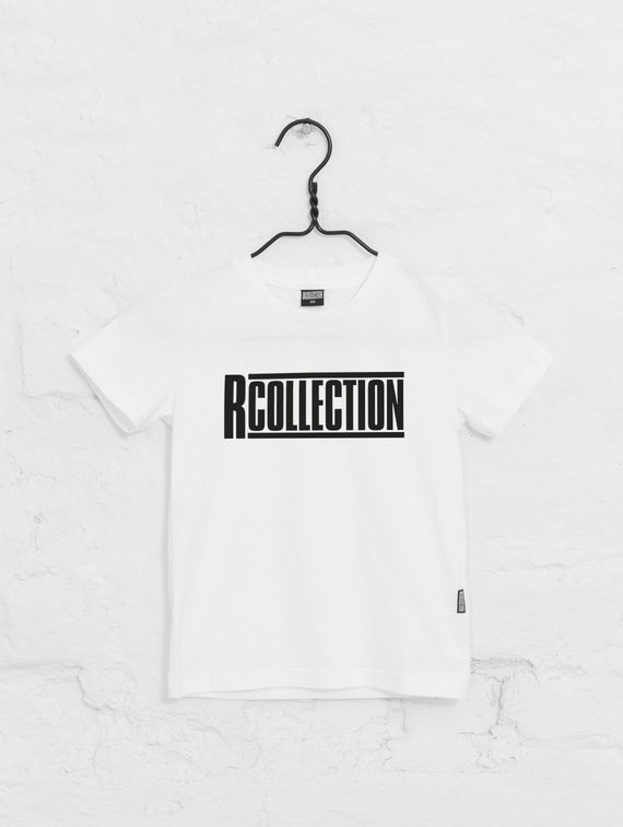 Children's Logo Shirt white / black R-Collection