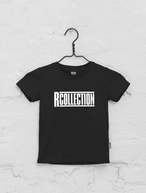 R-Collection Children's T-Shirt white logo