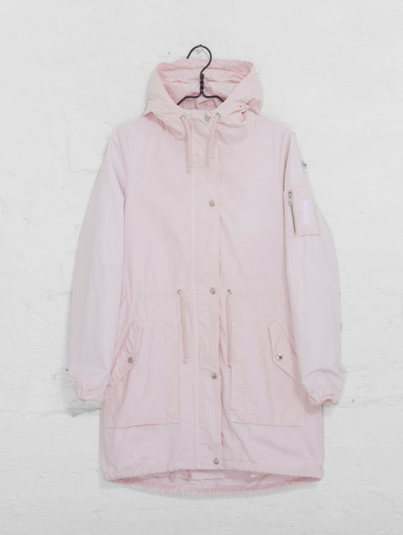 Women's Spring Parka cotton candy