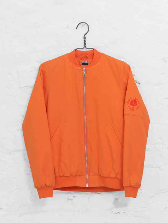 R-Collection Linen Bomber tigerlily