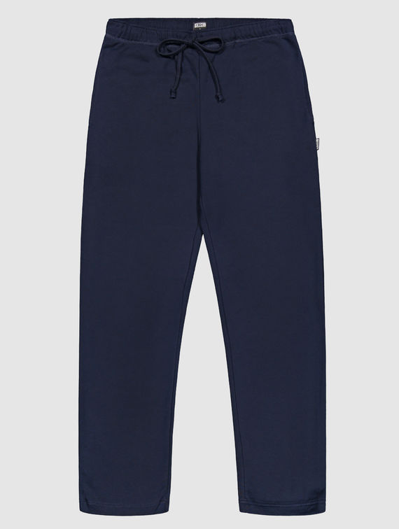 Straight Cut Sweatpants dark blue