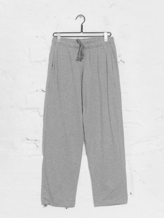 Jersey Pants light melange grey