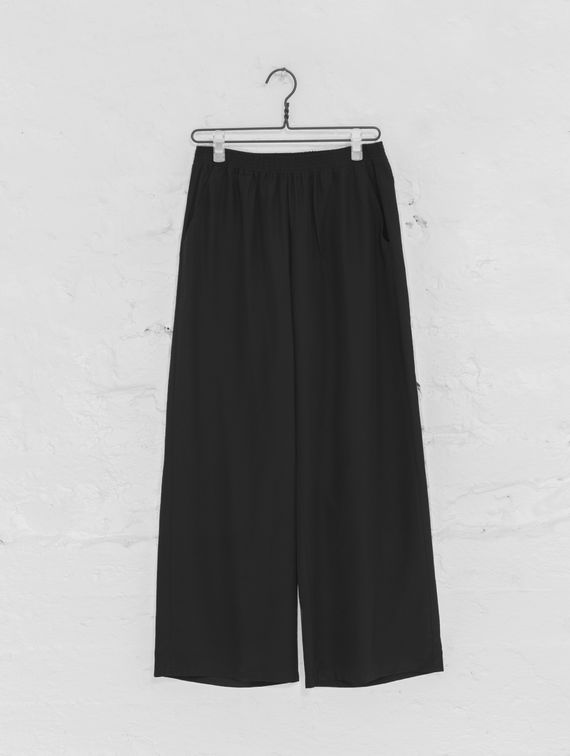 Essi Silk Pants black