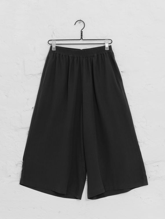 Silk Culottes black
