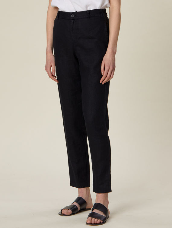 R-Collection Pia Linen Trousers