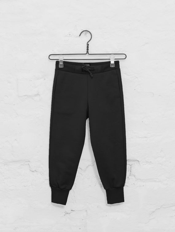 Children's Slim Sweatpants black