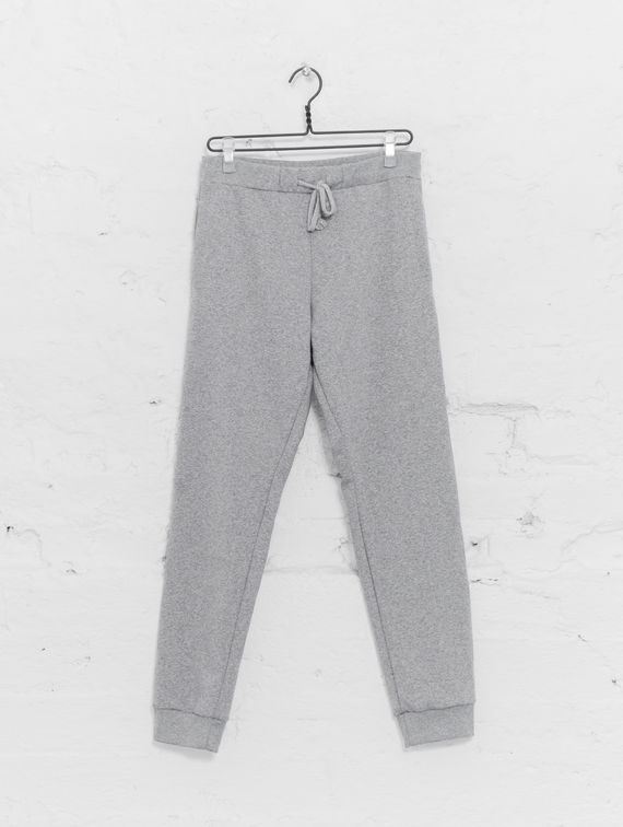 Slim Sweatpants light melange grey