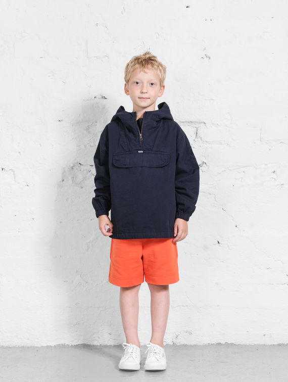 R-Collection      Children's Anorak ink blue