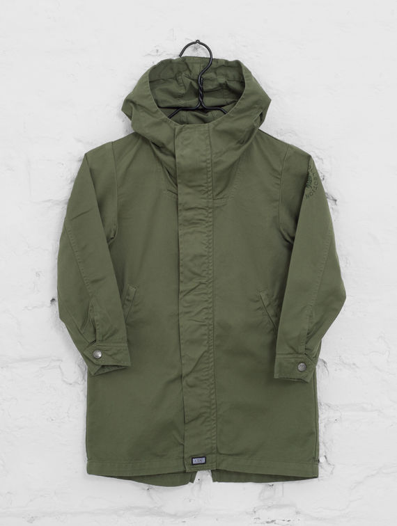 Children's Maxi Anorak moss green