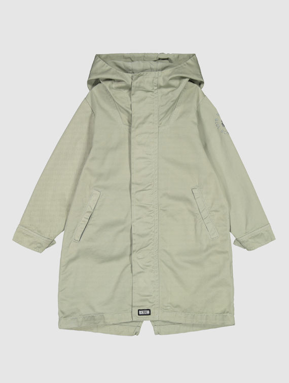 Children's Maxi Anorak fog green