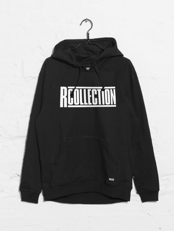 Classic Hoodie black with logo