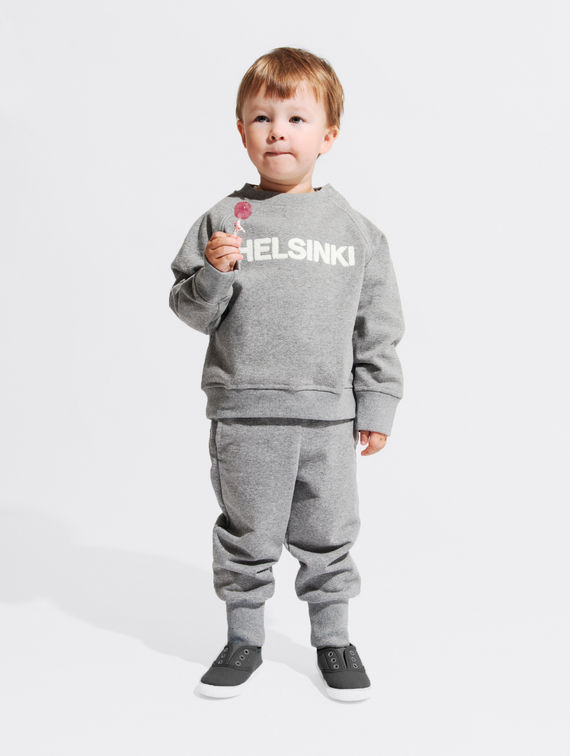 R-Collection Children's Mini City Sweatshirt Helsinki