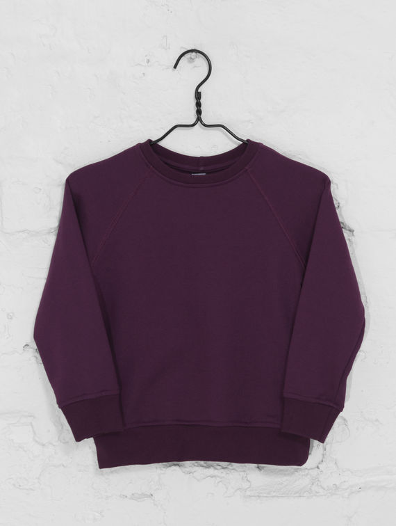 Children's Sweatshirt plum