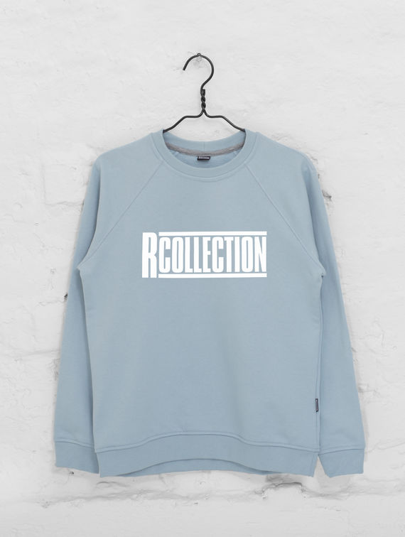 Women's Sweatshirt celestial blue / white R-Collection