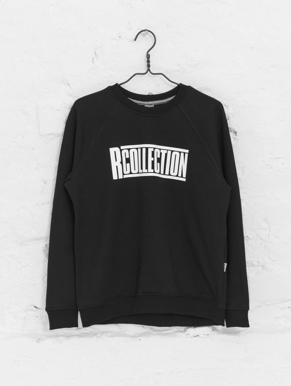 Women's Sweatshirt black shirt with logo