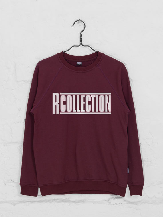 R-Collection Women's Sweatshirt white logo