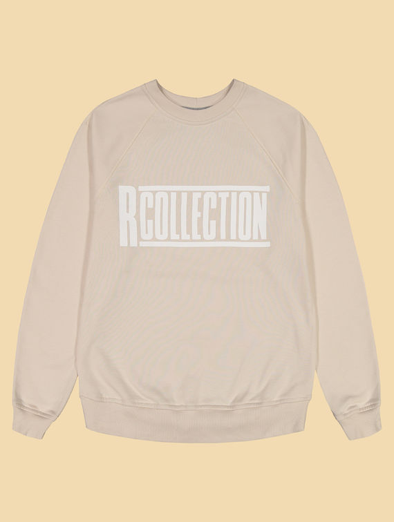 R-Collection Classic Sweatshirt white logo