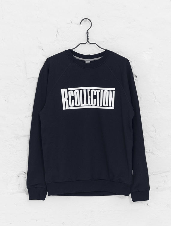 Classic Sweatshirt dark blue with logo