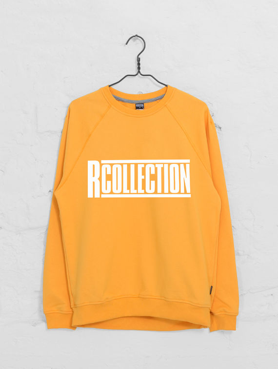 Classic Sweatshirt tangerine / white R-Collection