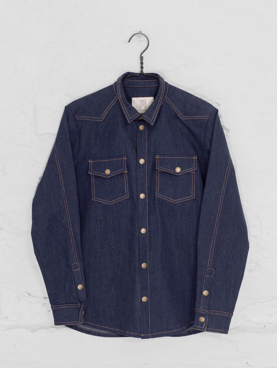 R-Collection Daniel Denim Shirt