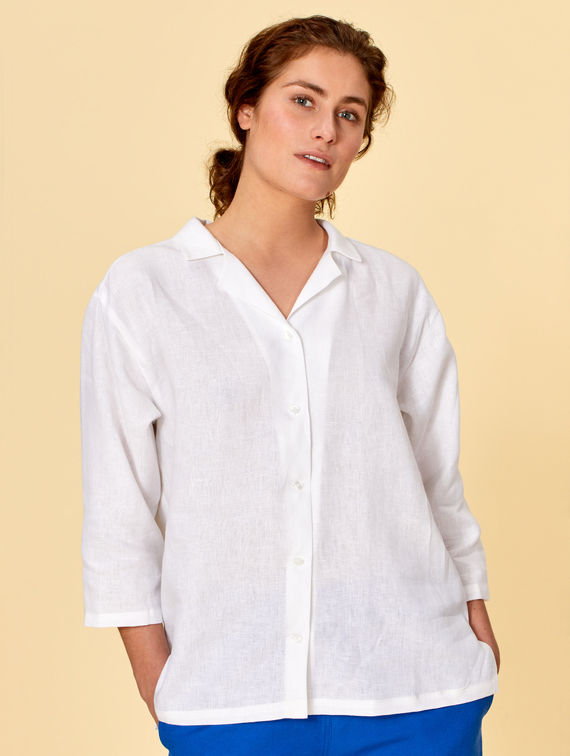 R-Collection Alma Linen Shirt