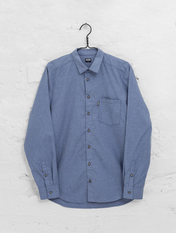 Flannel Shirt indigo blue