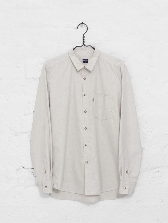 Flannel Shirt cream