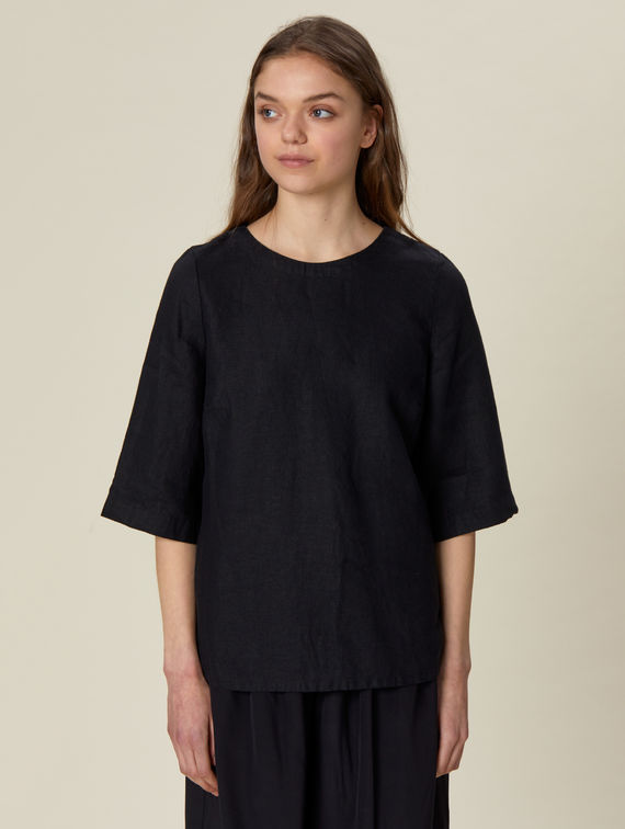 R-Collection Moona Linen Shirt
