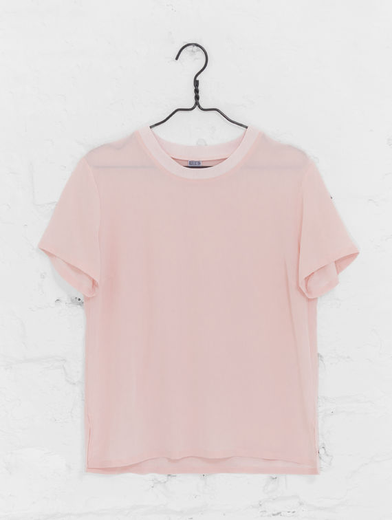 Eppu Silk-T-Shirt cotton candy