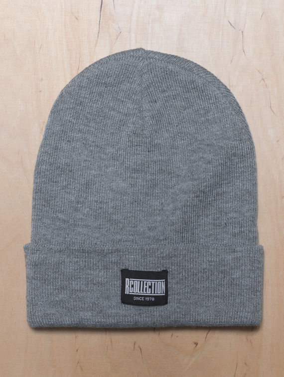 R-Collection Beanie melange grey