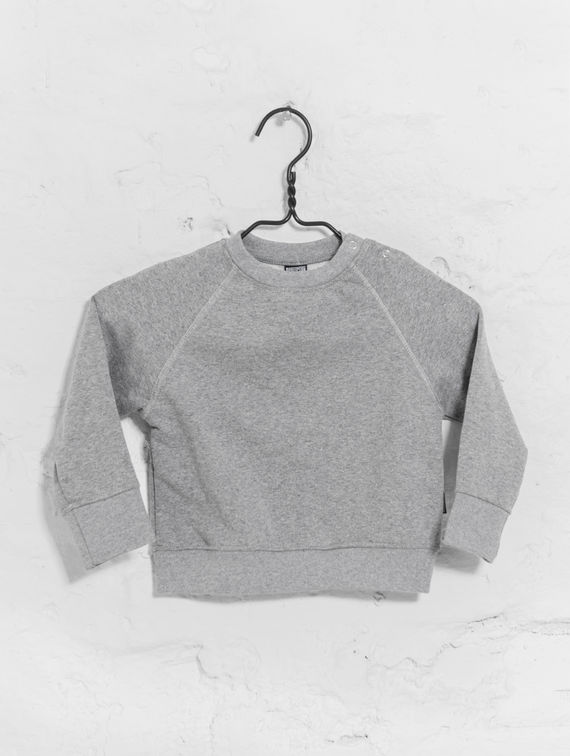 Children's Mini Sweatshirt light melange grey