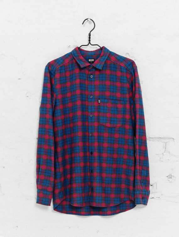 Flannel Shirt green/red check