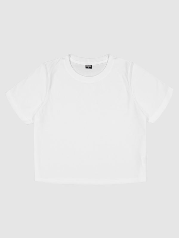 Cropped T-Shirt white
