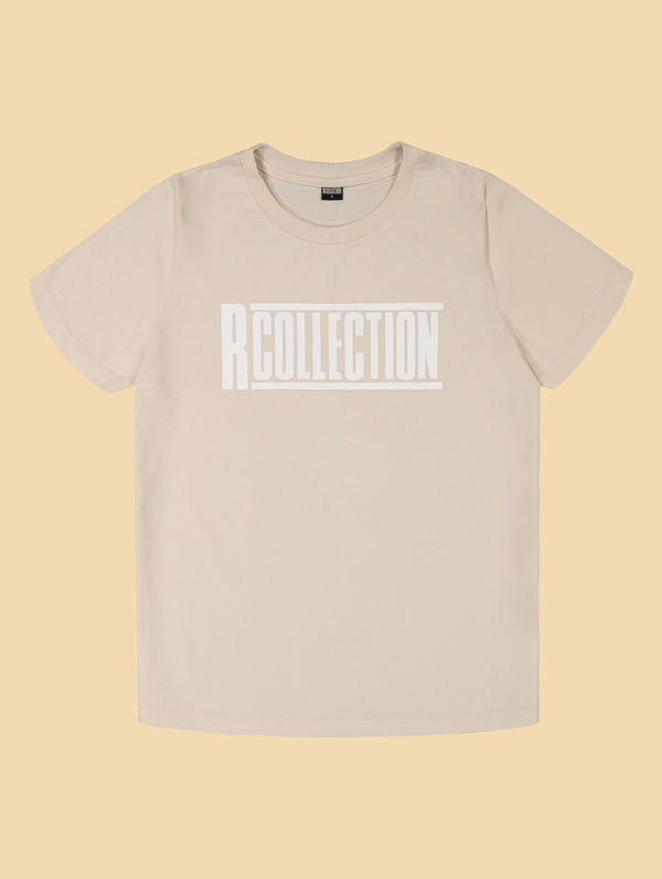 Women's logo T-Shirt birch / white R-Collection