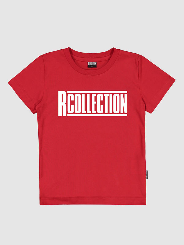 Children's T-Shirt red / white R-Collection