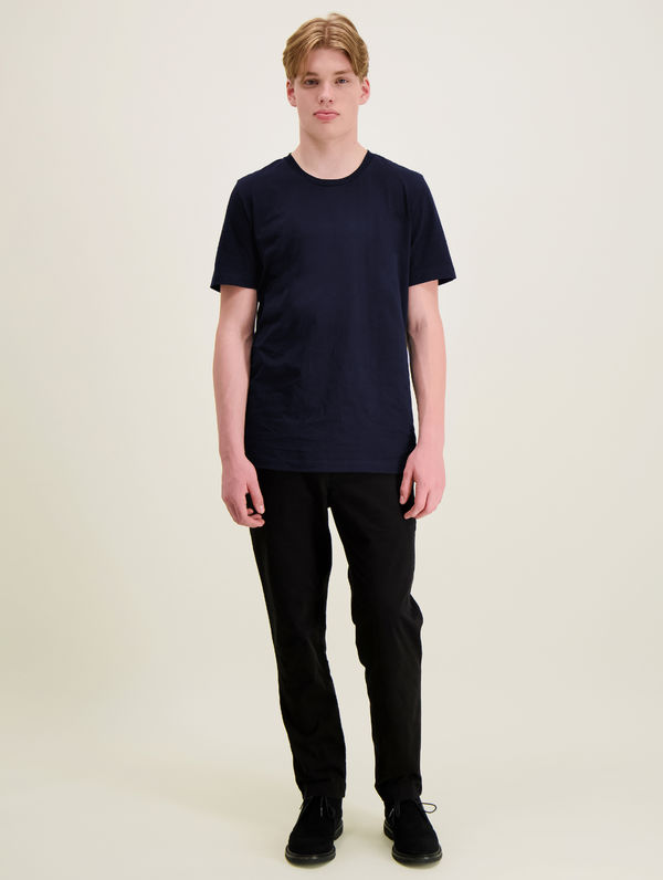 Slim T-Shirt dark blue
