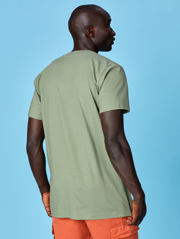 T-Shirt light moss green