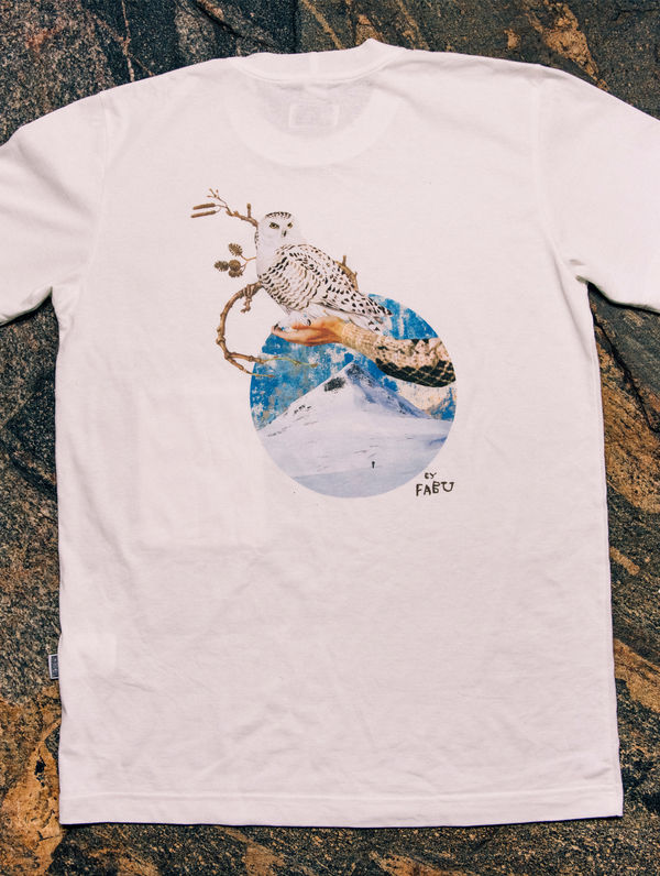 WWF & R-Collection T-Shirt cream / snowy owl