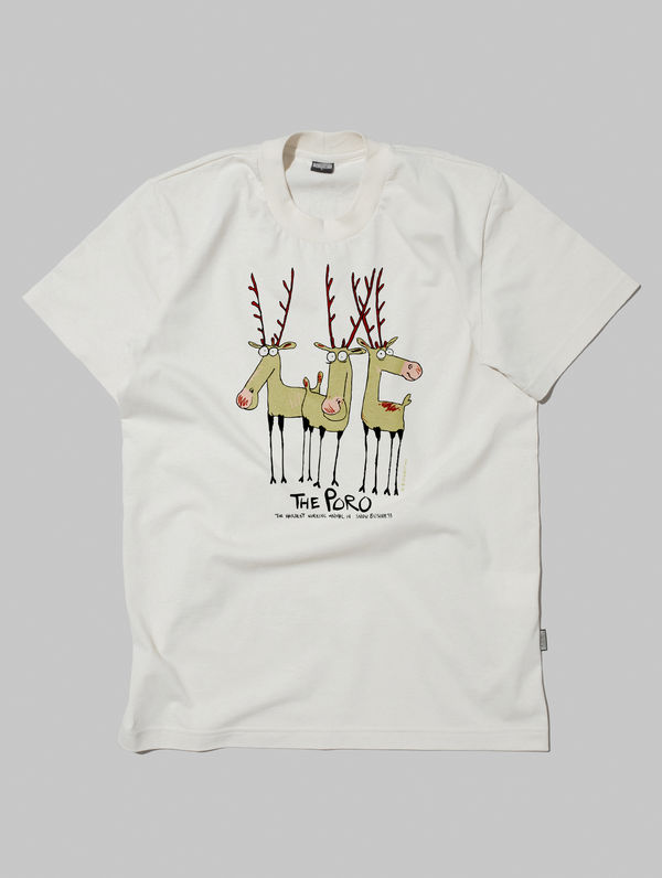 The Poro T-Shirt cream