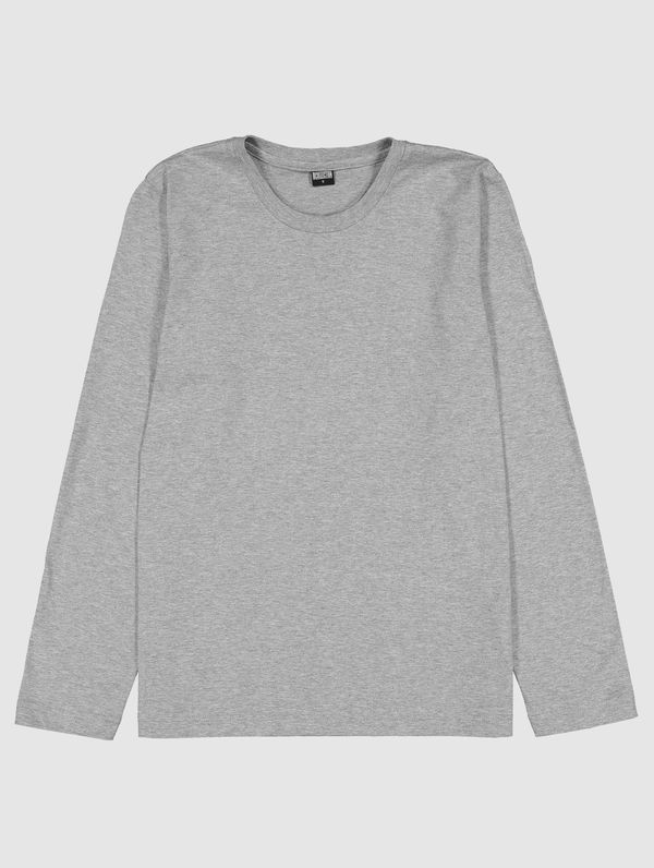 Long-Sleeved T-Shirt light grey melange