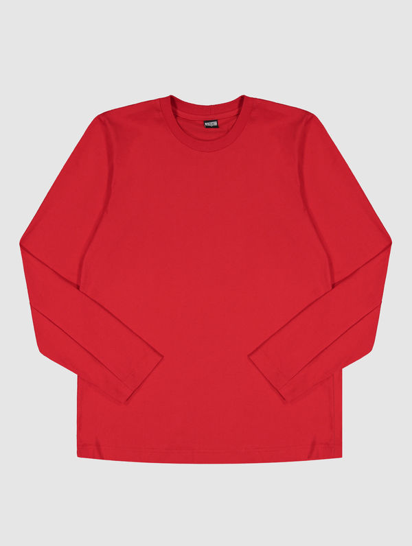 Long-Sleeved T-Shirt red