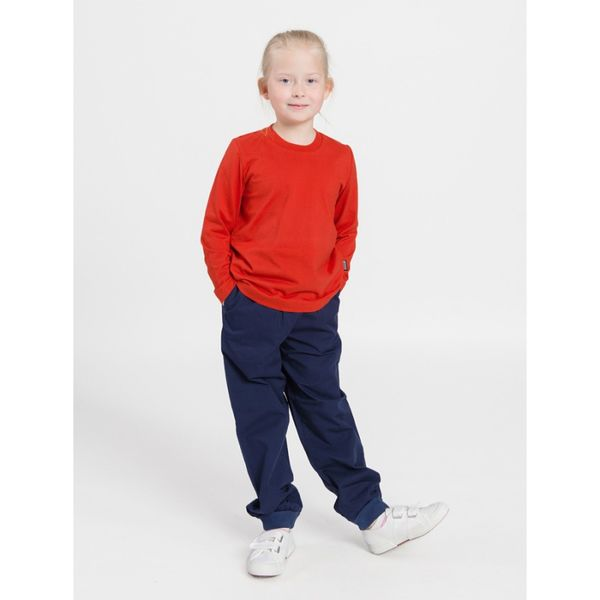 Children's Long-Sleeved T-Shirt red