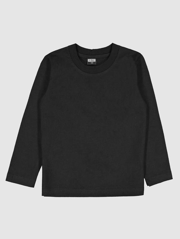 Children's Long-Sleeved T-Shirt black