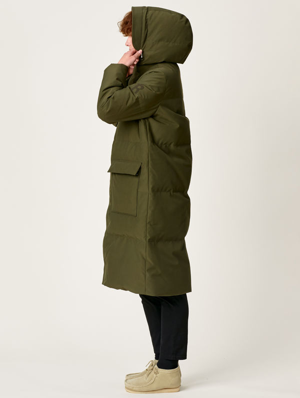 Kainuu Downjacket olive green